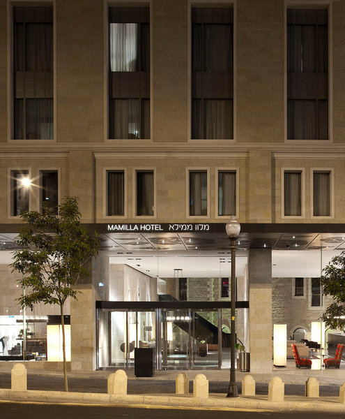 Mamilla Hotel Außenaufnahme