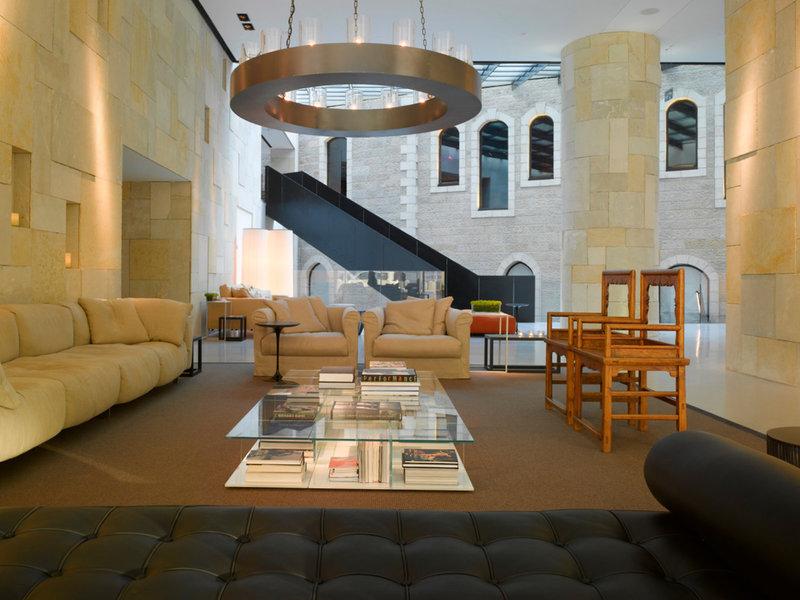 Mamilla Hotel Lounge/Empfang