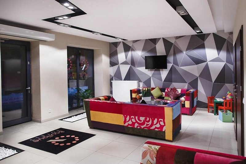 Boutique Hotels Bytom Lounge/Empfang