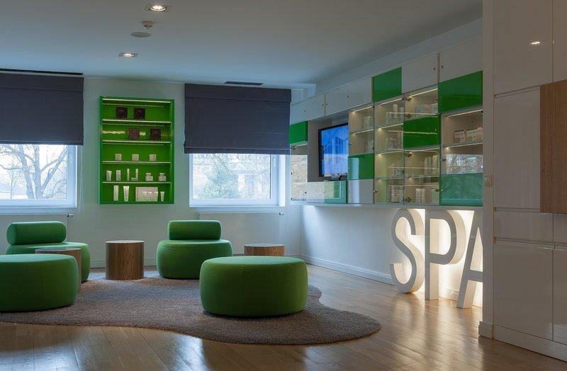 Hotel Villa Park MED & SPA Lounge/Empfang