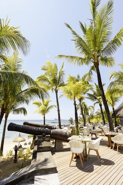 Canonnier Beachcomber Golf Resort & Spa Terrasse