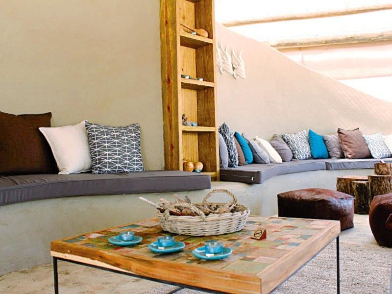 Khwai Guest House Lounge/Empfang