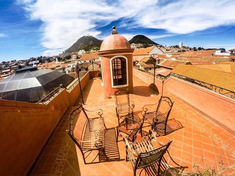 Monasterio Terrasse