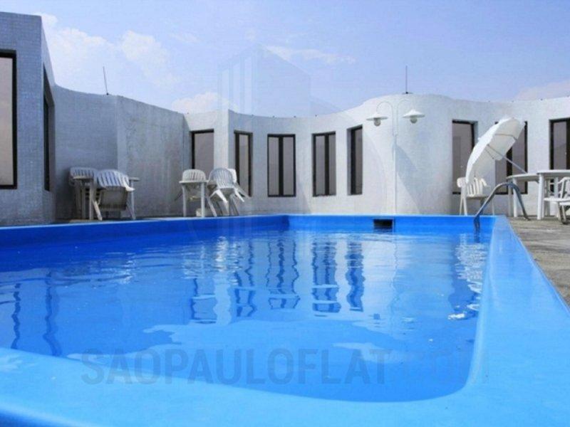 Paulista Wall Street Suites Pool