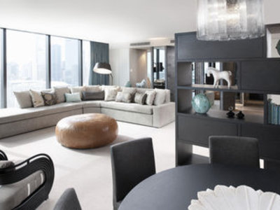 Crown Metropol Melbourne Lounge/Empfang