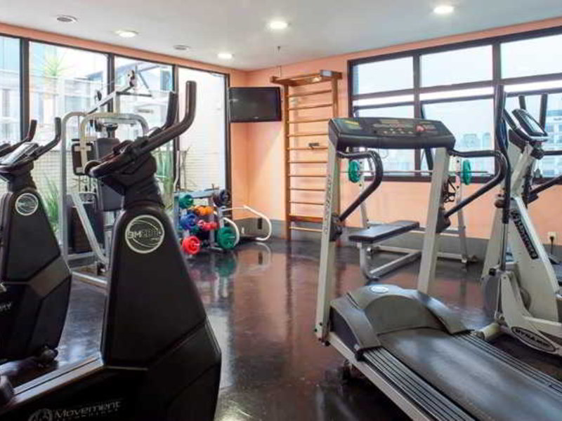 Green Place Flat Ibirapuera Sport und Freizeit