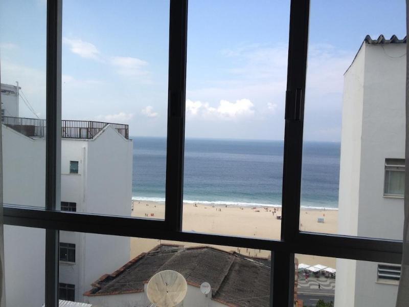 Toledo Copacabana Hotel Terrasse