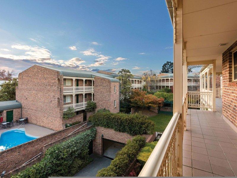 Medina Serviced Apartments Canberra Terrasse
