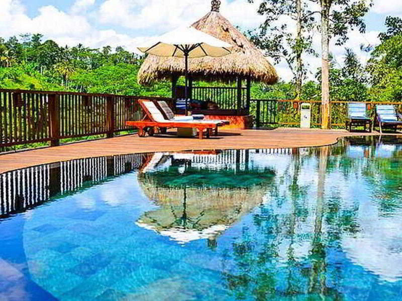 The Green Forest Resort Pool