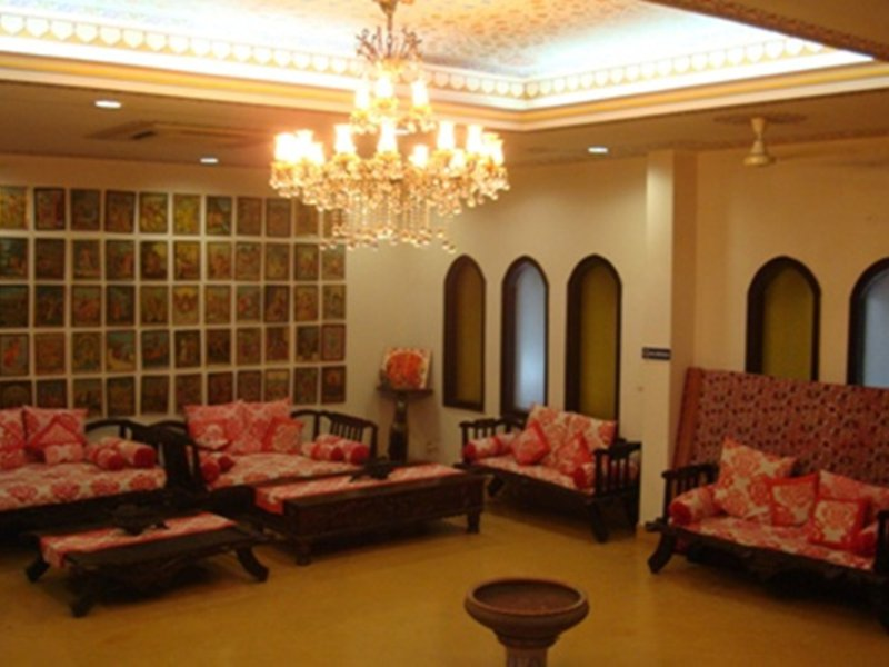 Jyoti Mahal Lounge/Empfang
