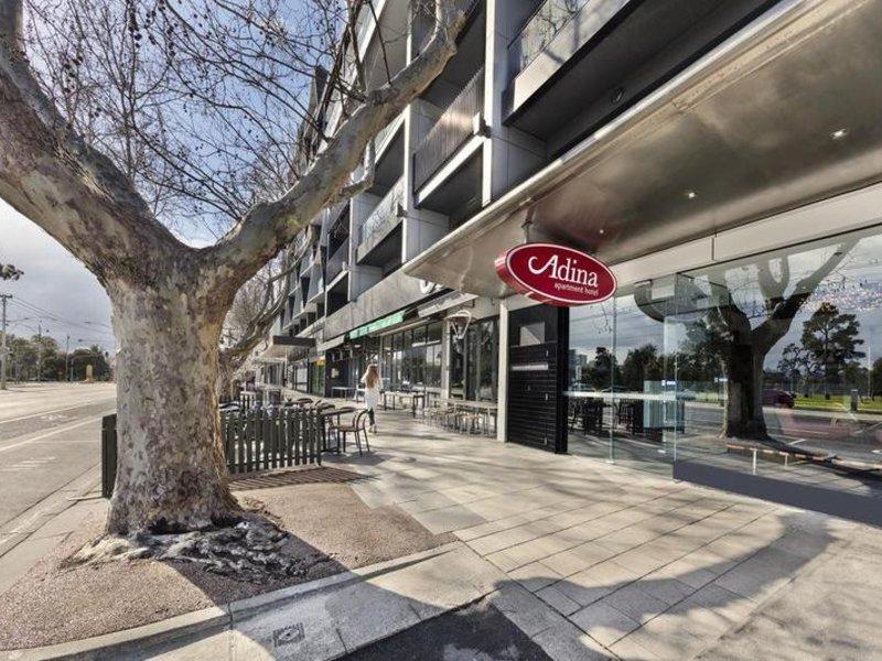 Adina Apartment St. Kilda Terrasse