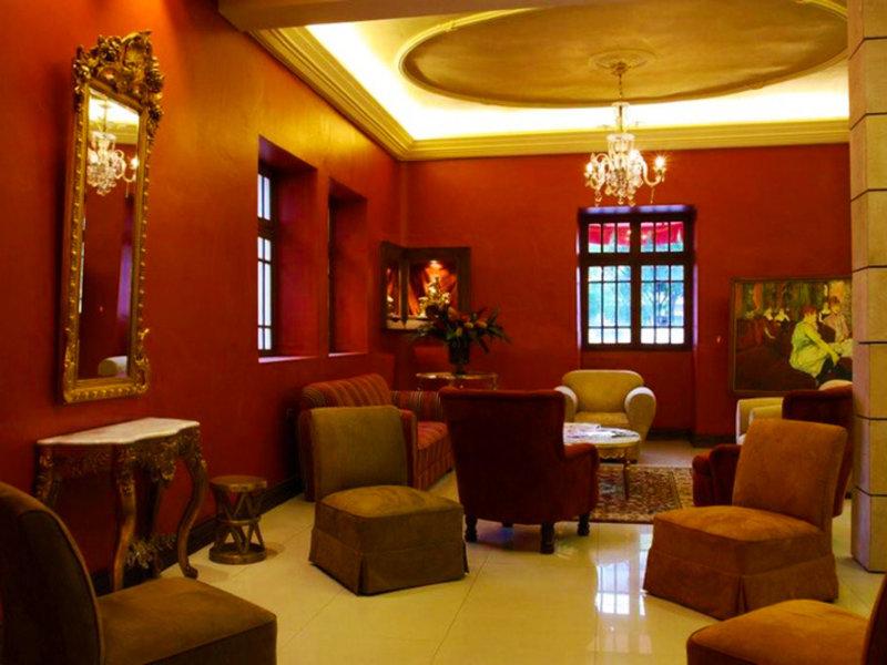 Gran Hotel Cochabamba Lounge/Empfang
