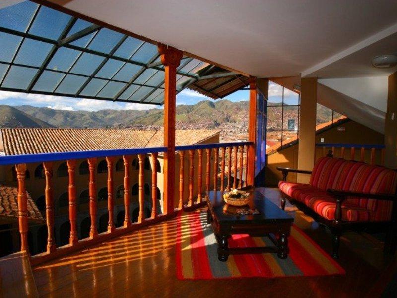 Casa Andina Classic - Cusco San Blas Terrasse