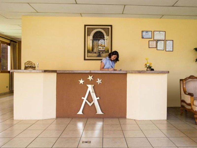Apart Hotel Anteus Lounge/Empfang