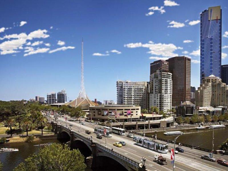 Melbourne Short Stay Apartment at SouthbankOne Landschaft