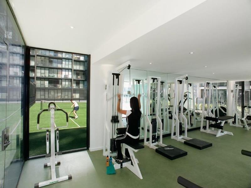 Melbourne Short Stay Apartment at SouthbankOne Sport und Freizeit