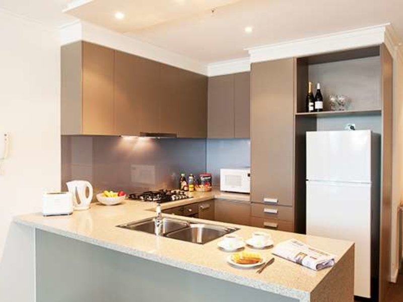 Melbourne Short Stay Apartment at SouthbankOne Restaurant