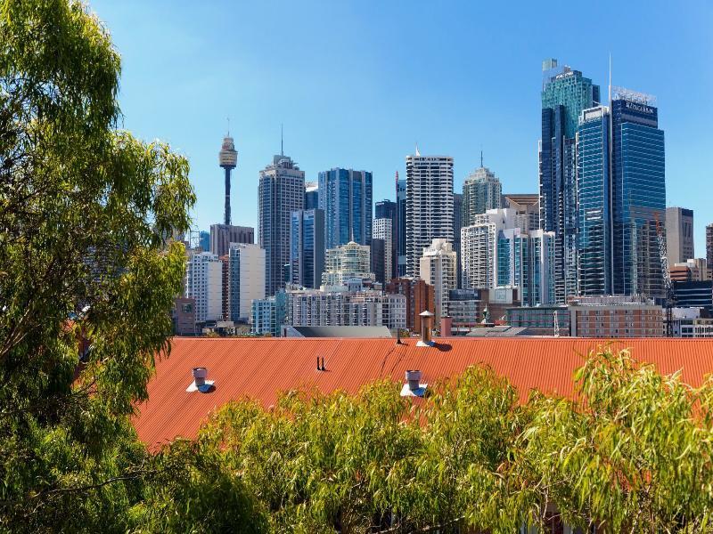 Metro Aspire Hotel Sydney Landschaft