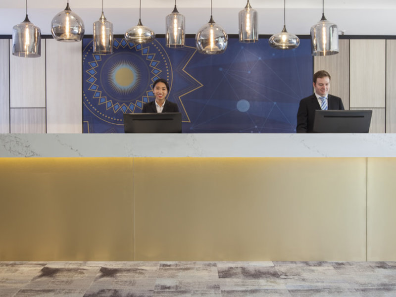 Metro Aspire Hotel Sydney Lounge/Empfang