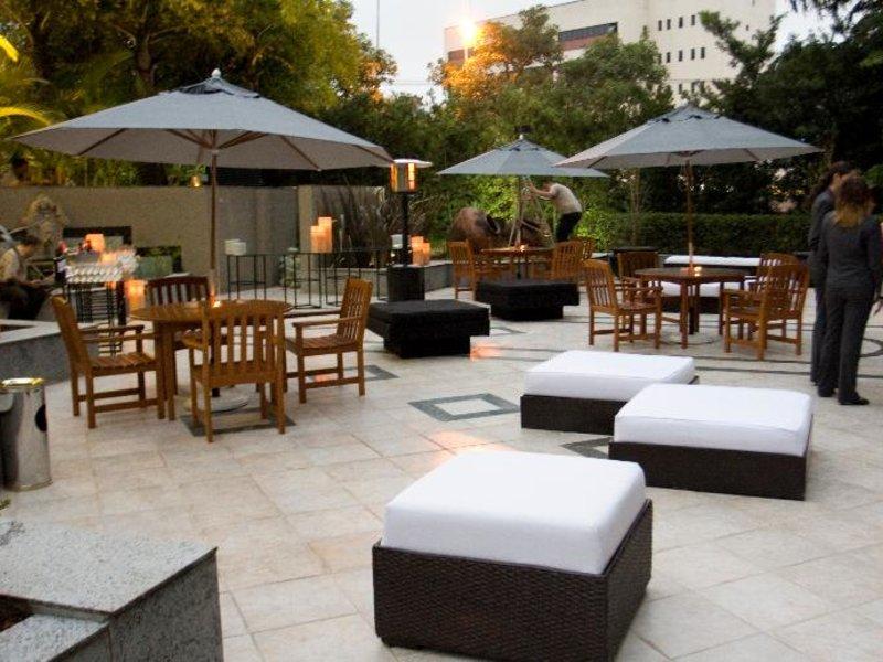 Mercure Grand Hotel Parque Ibirapuera Terrasse