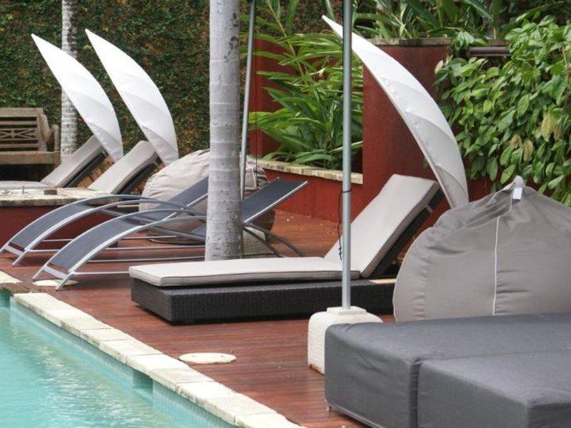 Hibiscus Resort & Spa Terrasse