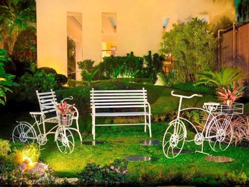 Prime Park Hotel Bandung Garten