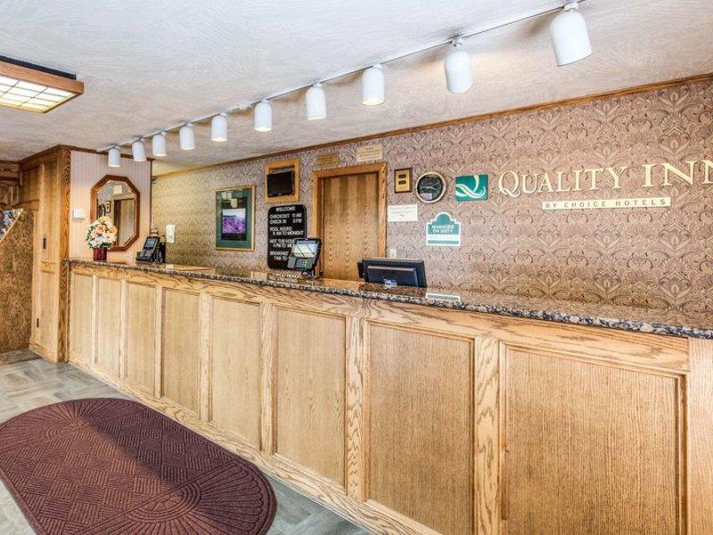 Quality Inn Cedar City Lounge/Empfang