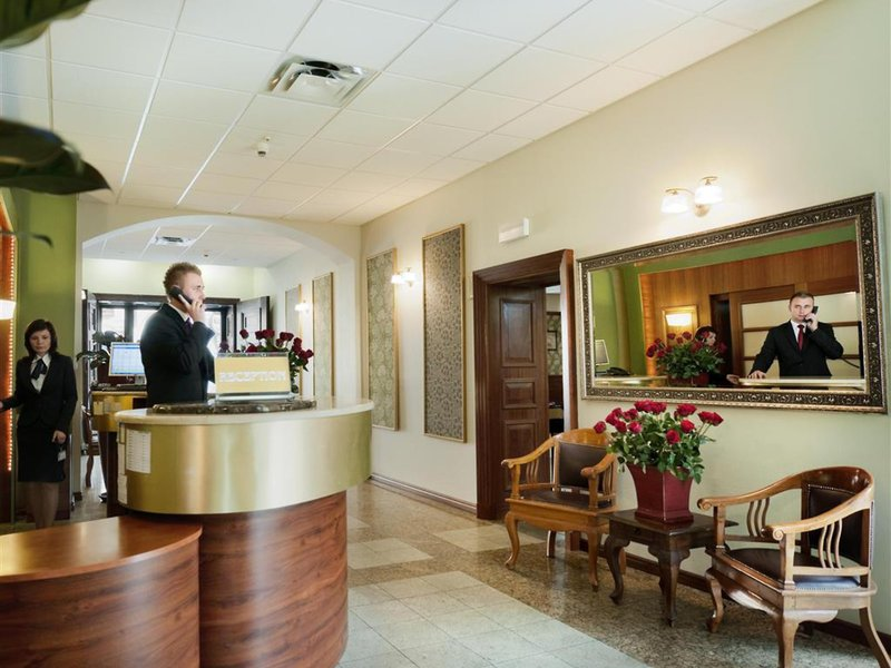 Best Western Hotel Prima Wroclaw Lounge/Empfang