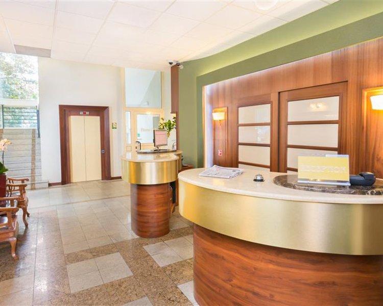 Best Western Hotel Prima Wroclaw Badezimmer