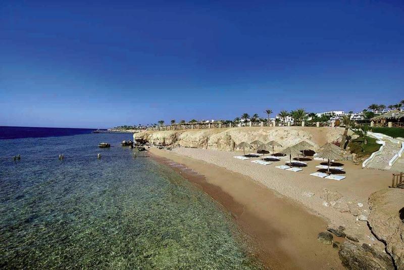 Hilton Sharm Waterfalls Resort Strand