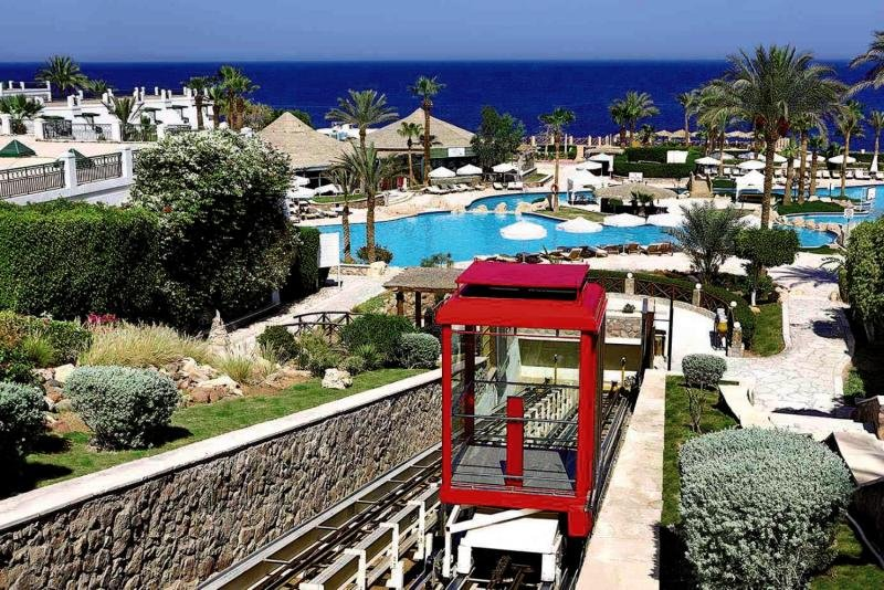 Hilton Sharm Waterfalls Resort Garten