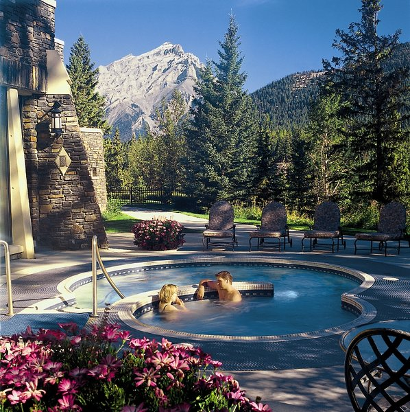 The Fairmont Banff Springs Pool