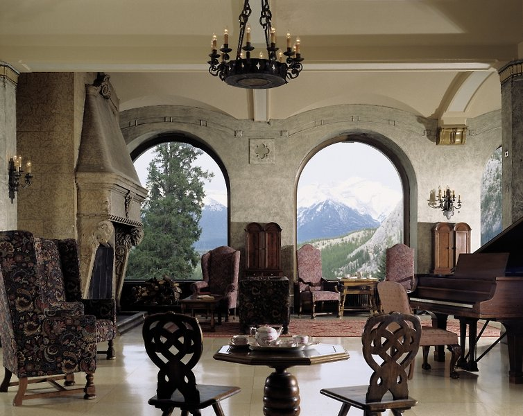 The Fairmont Banff Springs Lounge/Empfang