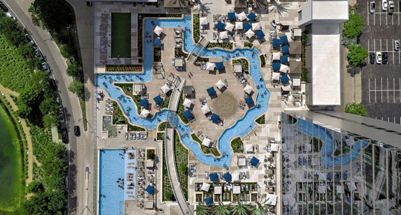 Marriott Marquis Houston Landkarte