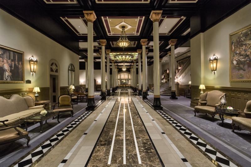 The Driskill Lounge/Empfang