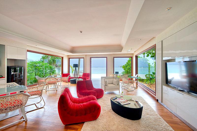 Niyama Private Islands Maldives Lounge/Empfang