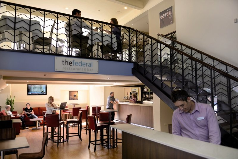 Mercure Grosvenor Hotel Adelaide Lounge/Empfang