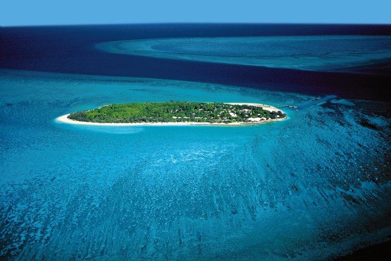 Heron Island Landschaft