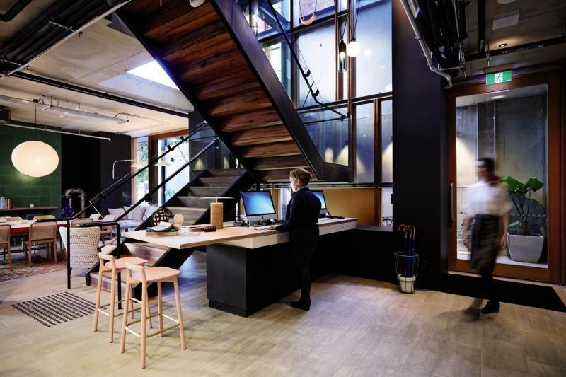 Alex Hotel Lounge/Empfang