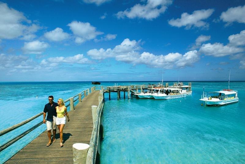 Heron Island Terrasse