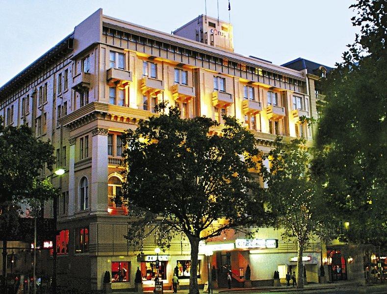 Mercure Grosvenor Hotel Adelaide Außenaufnahme