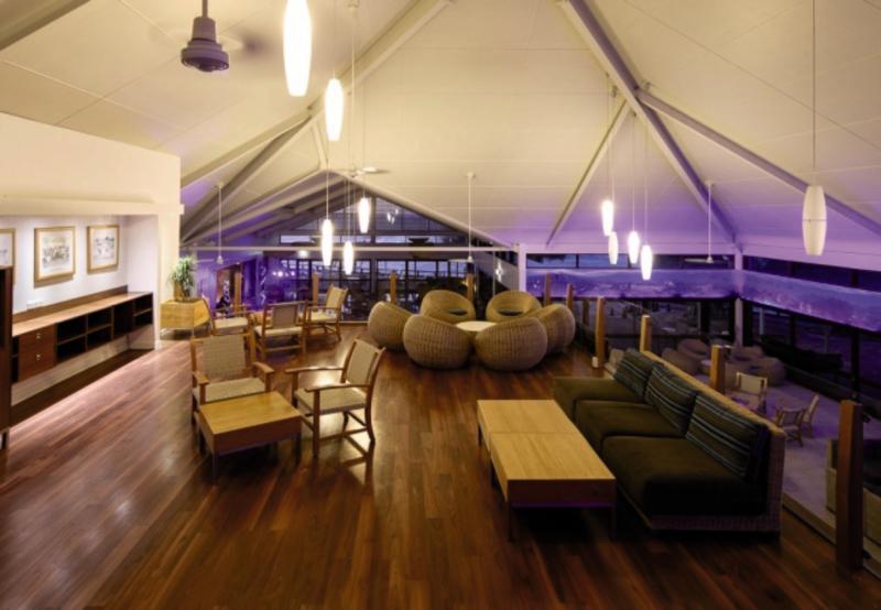 Heron Island Lounge/Empfang
