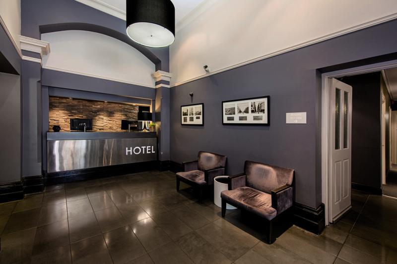 Pensione Melbourne demnächst Best Western Melbourne City Lounge/Empfang