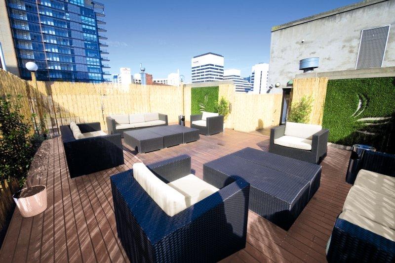 Pensione Melbourne demnächst Best Western Melbourne City Terrasse