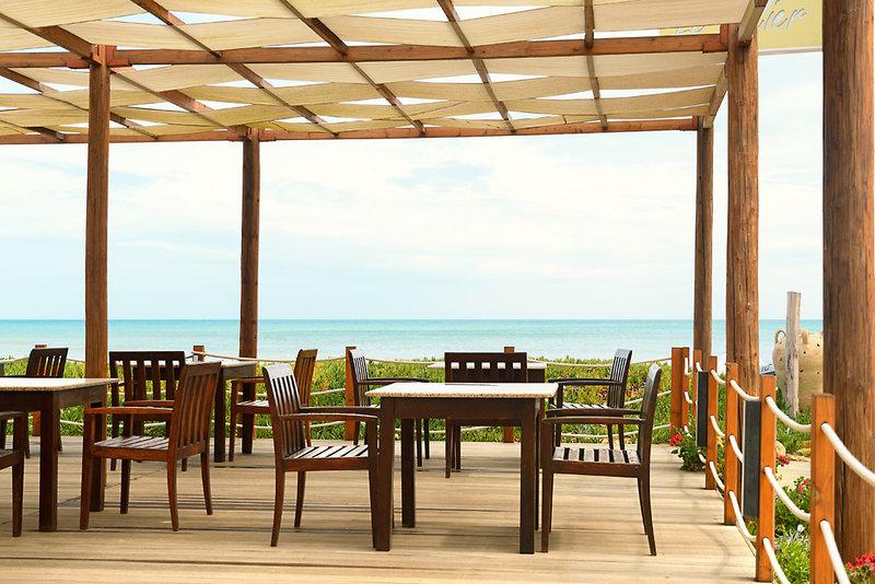 SunConnect Delfino Beach  Terrasse