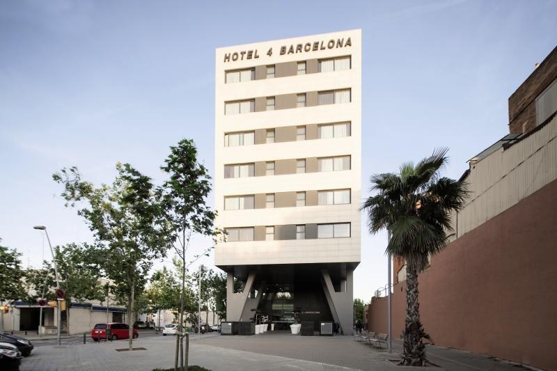 Hotel 4 Barcelona Außenaufnahme