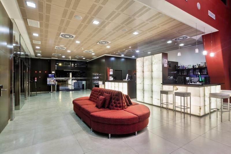 Hotel 4 Barcelona Lounge/Empfang