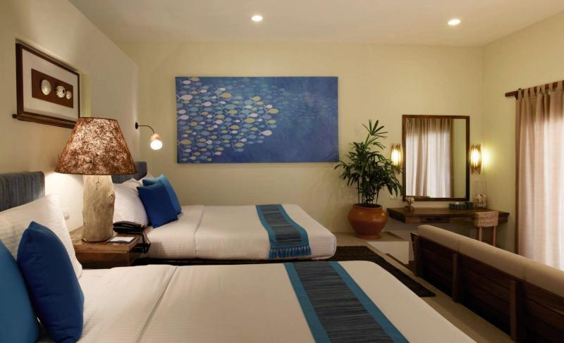 Bluewater Sumilon Beach Resort Wohnbeispiel