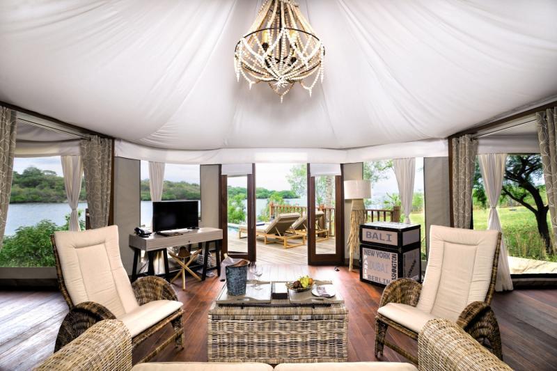 Menjangan Dynasty Resort, Beach Camp & Dive Centre Lounge/Empfang
