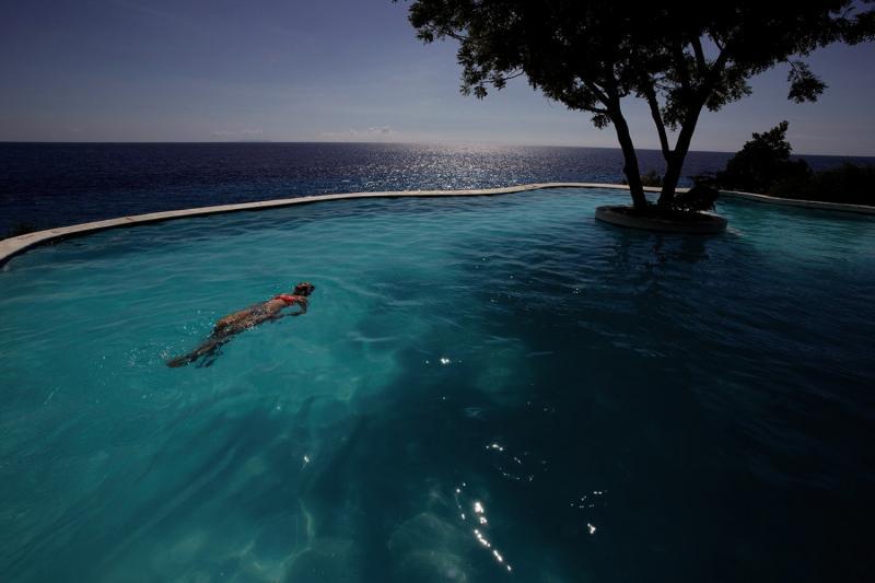 Bluewater Sumilon Beach Resort Landschaft